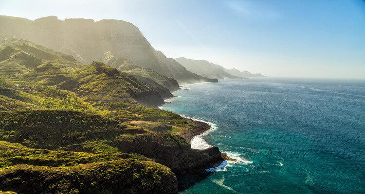 SInglereise nach Gran Canaria- Küste