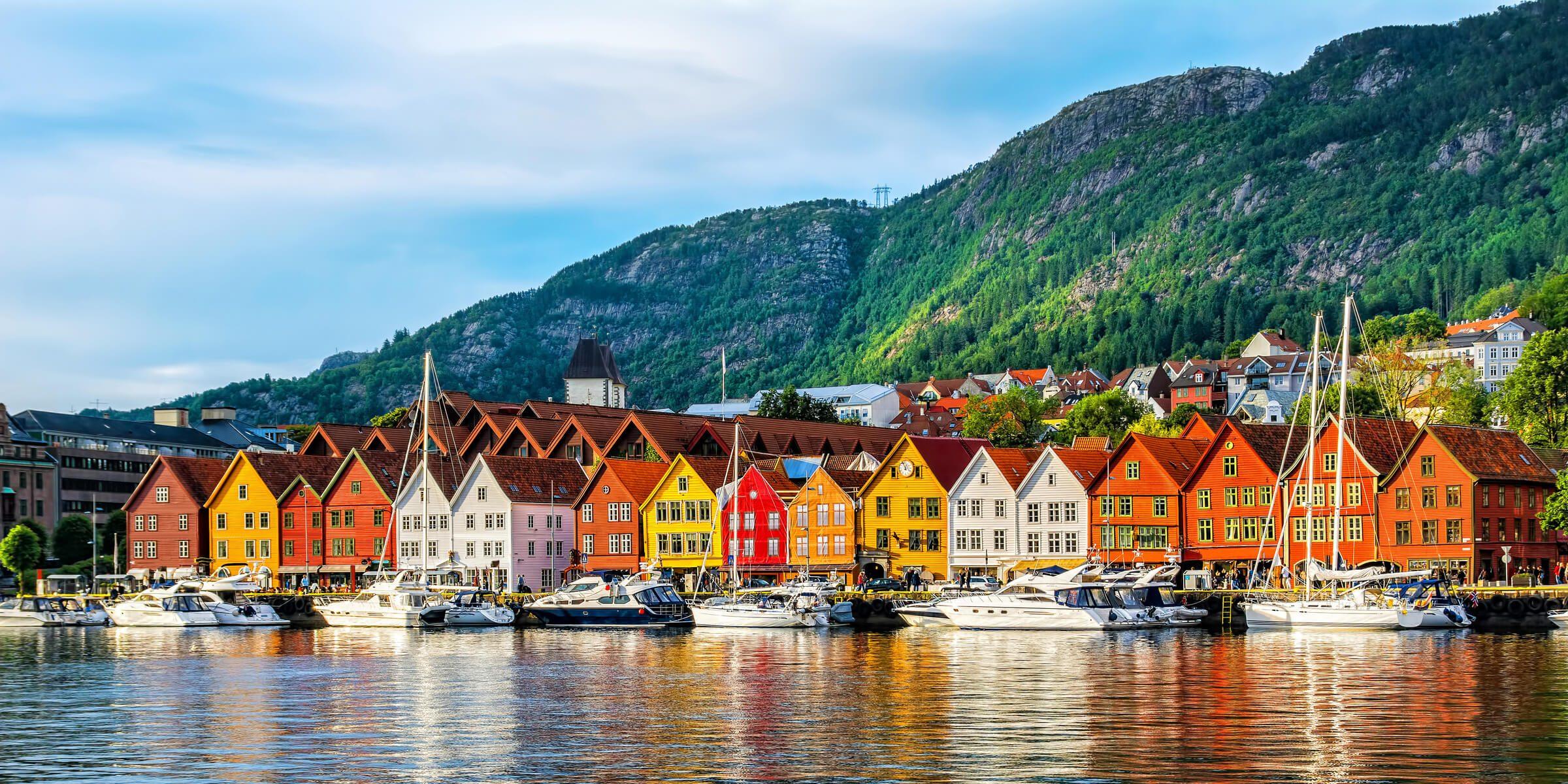 Singlreise nach Bergen in Norwegen - Altsatdt