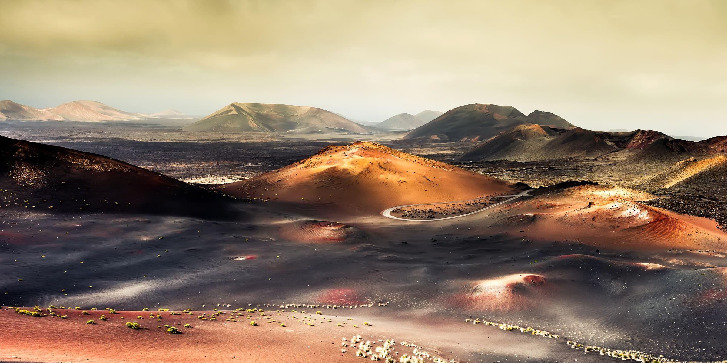 Singleurlaub auf Lanzarote - Berglandschaft