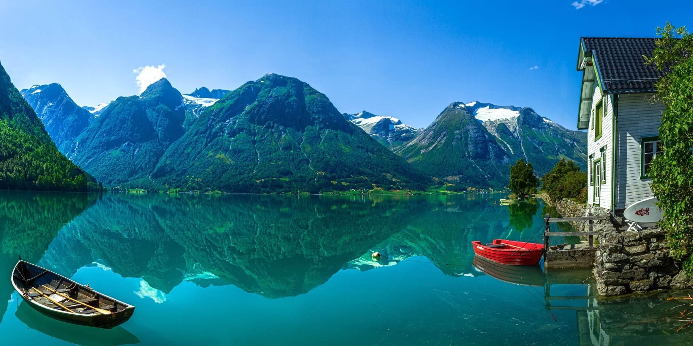 Nordeuropa und Skandinavien auf einer Singlereise nach Norwegen erleben