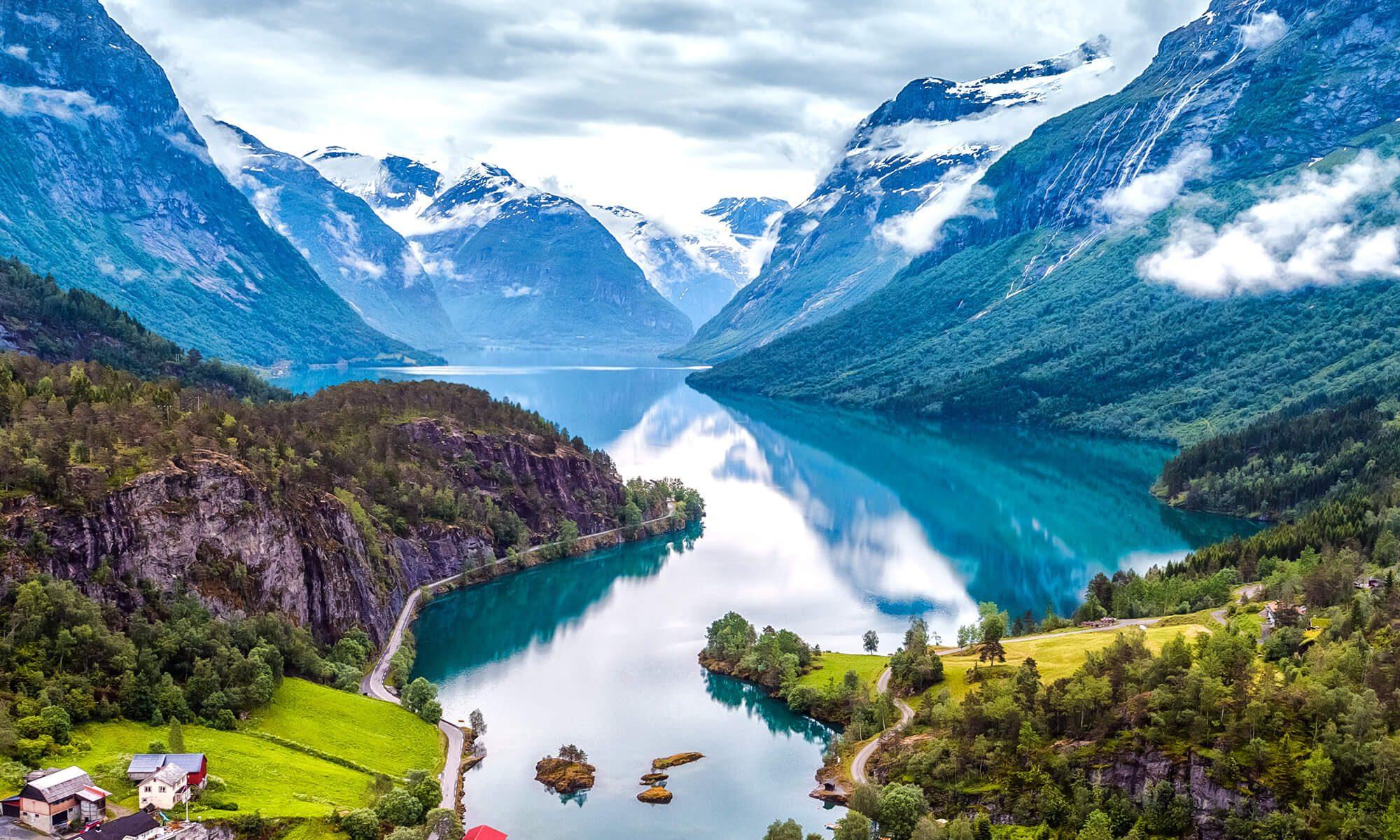 Singlreise nach Bergen in Norwegen