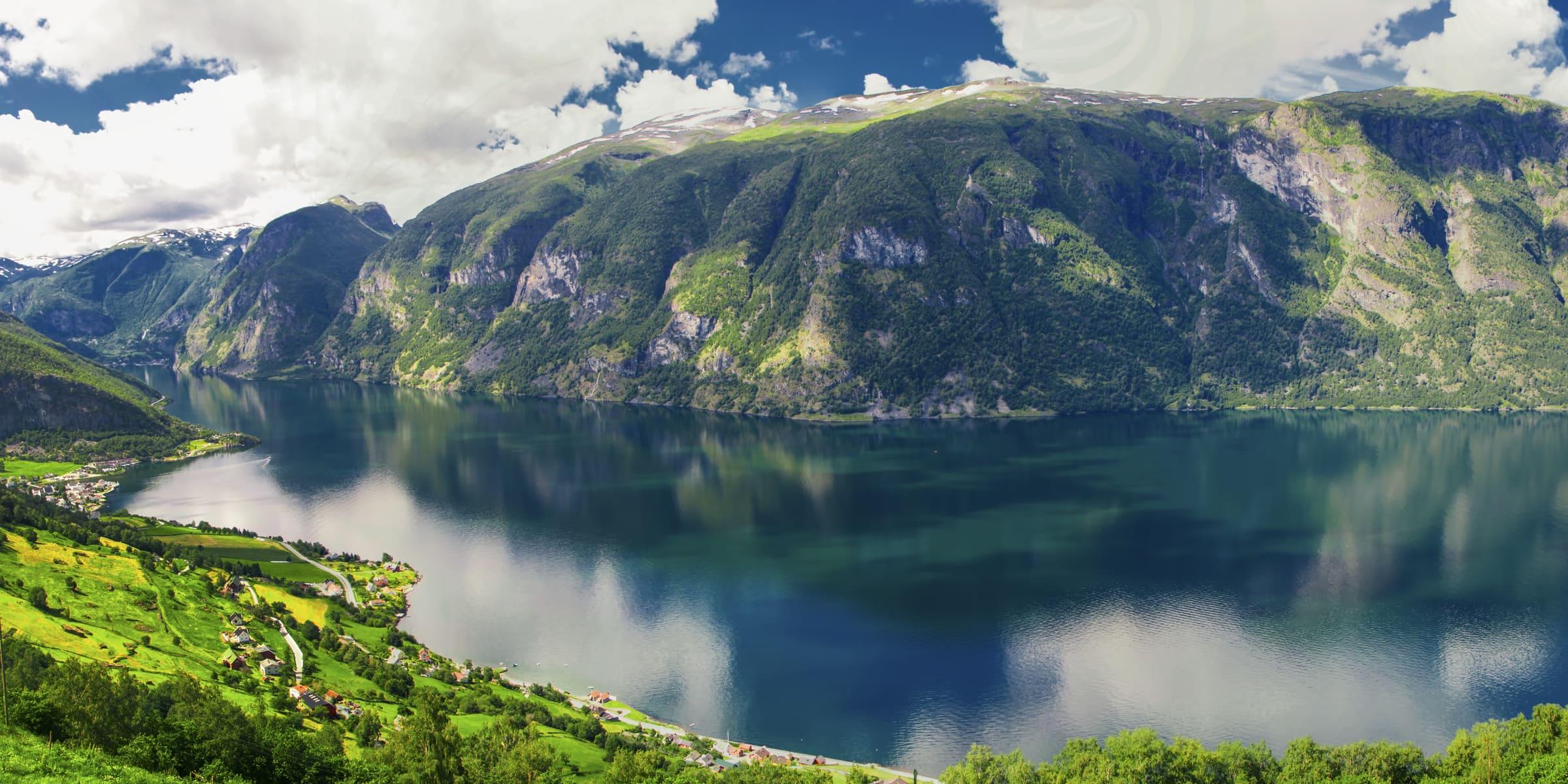 Singlereise nach Norwegen mit Besuch des Sognefjords