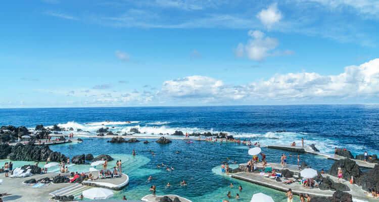 Singlereise Madeira - Lava Pools Porto Moniz