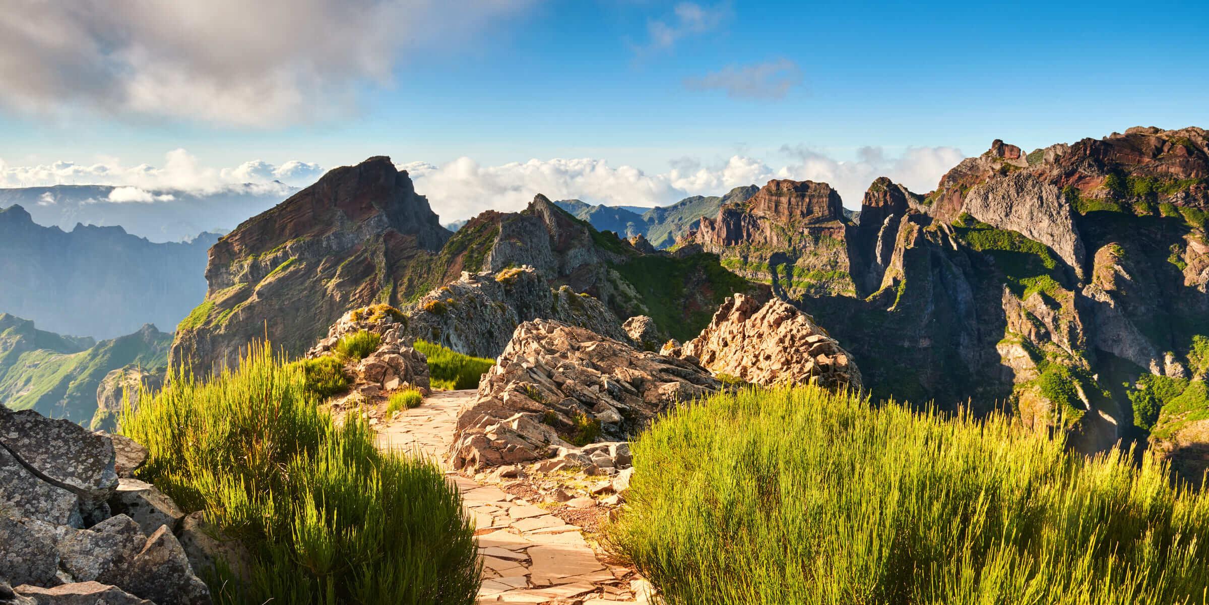 Singlereise Madeira - Bergpanorama