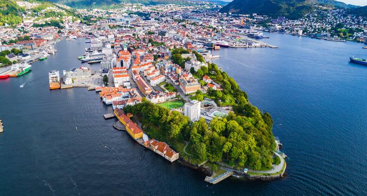 Singleurlaub in Norwegen - Willkommen in Bergen
