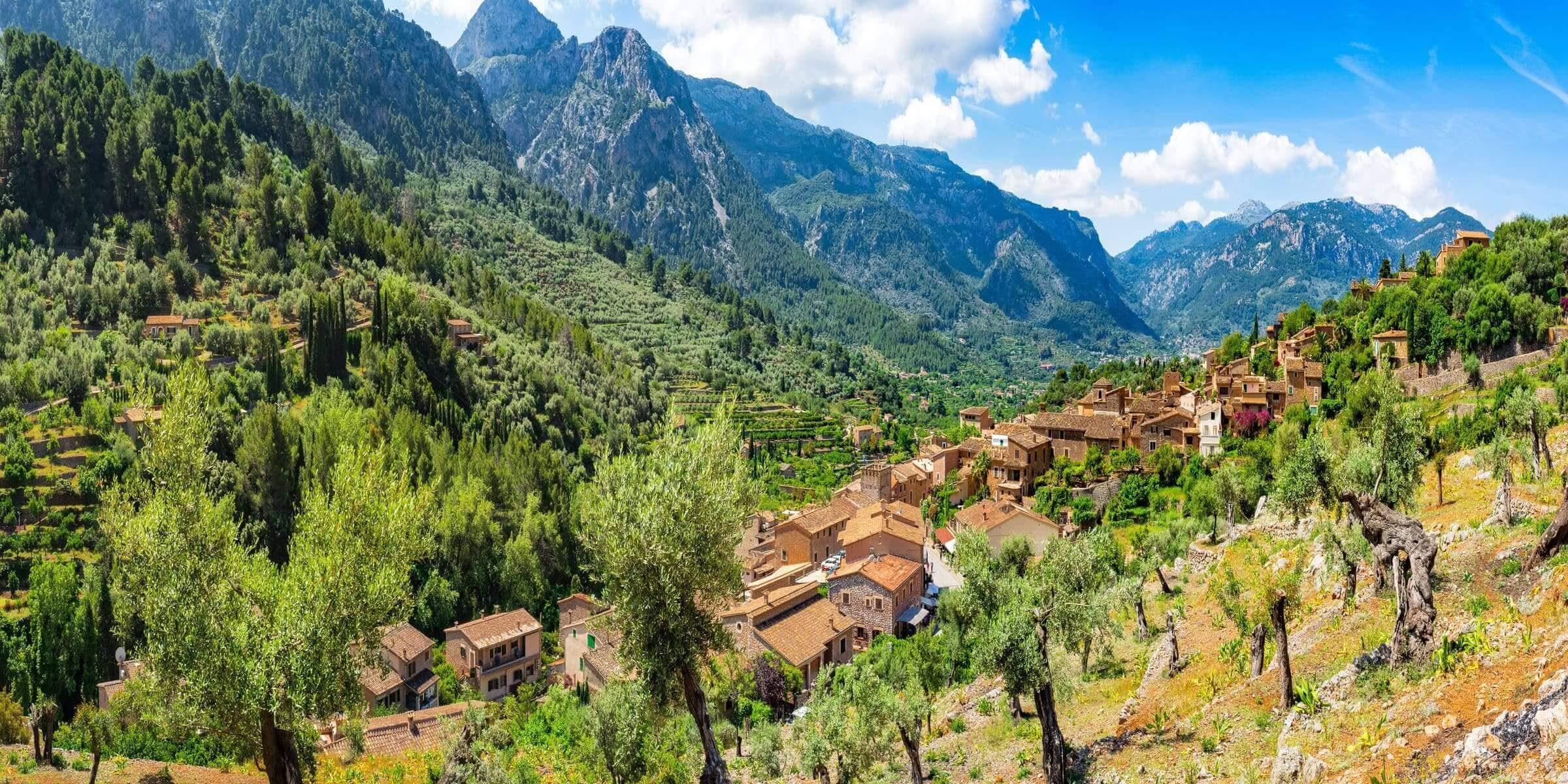 Singlereisen nach Mallorca - Dorf im Landesinneren