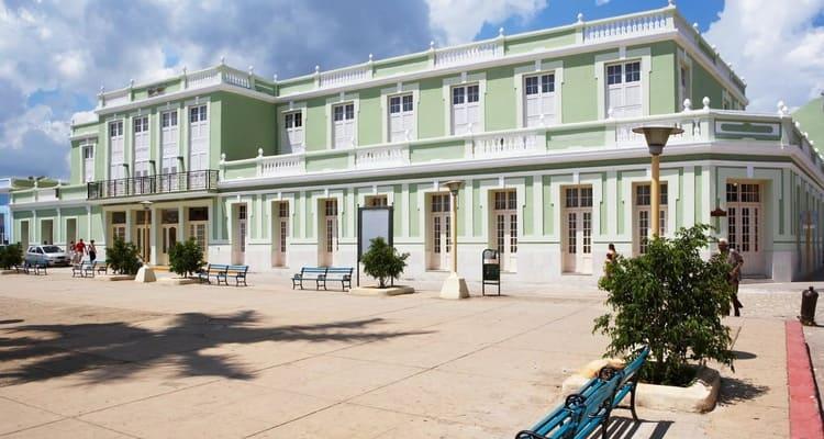Singlereise nach Kuba - Iberostar Grand Hotel Trinidad Außenansicht