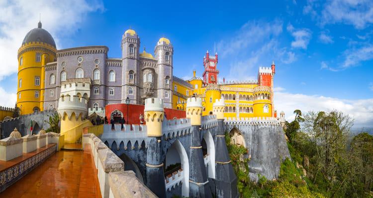 Singlereise nach Lissabon - Palast Pena