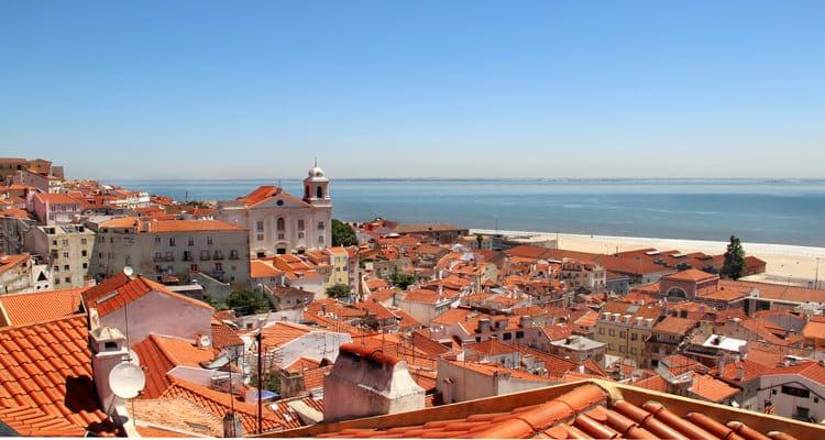 Singlereise nach Lissabon - Blick über die Stadt