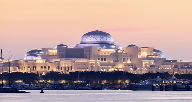 Singlereise nach Abu Dhabi - Präsidenten Palast