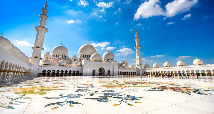 Singlereise nach Abu Dhabi - Scheich Zayed Moschee