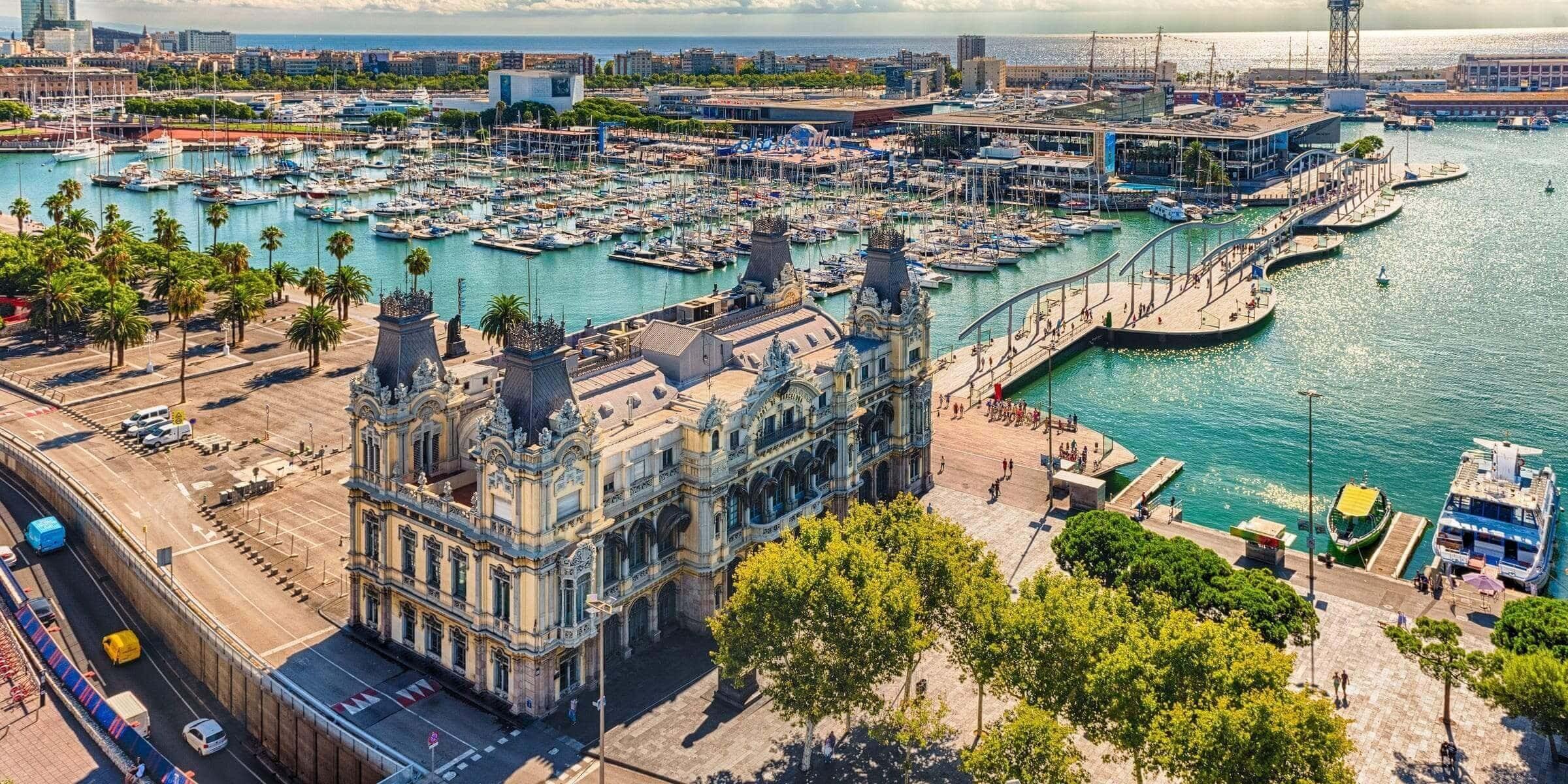 Singlereise nach Barcelona - Yachthafen