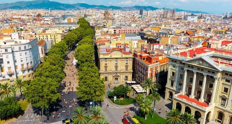 Singlereise nach Barcelona - La Rambla