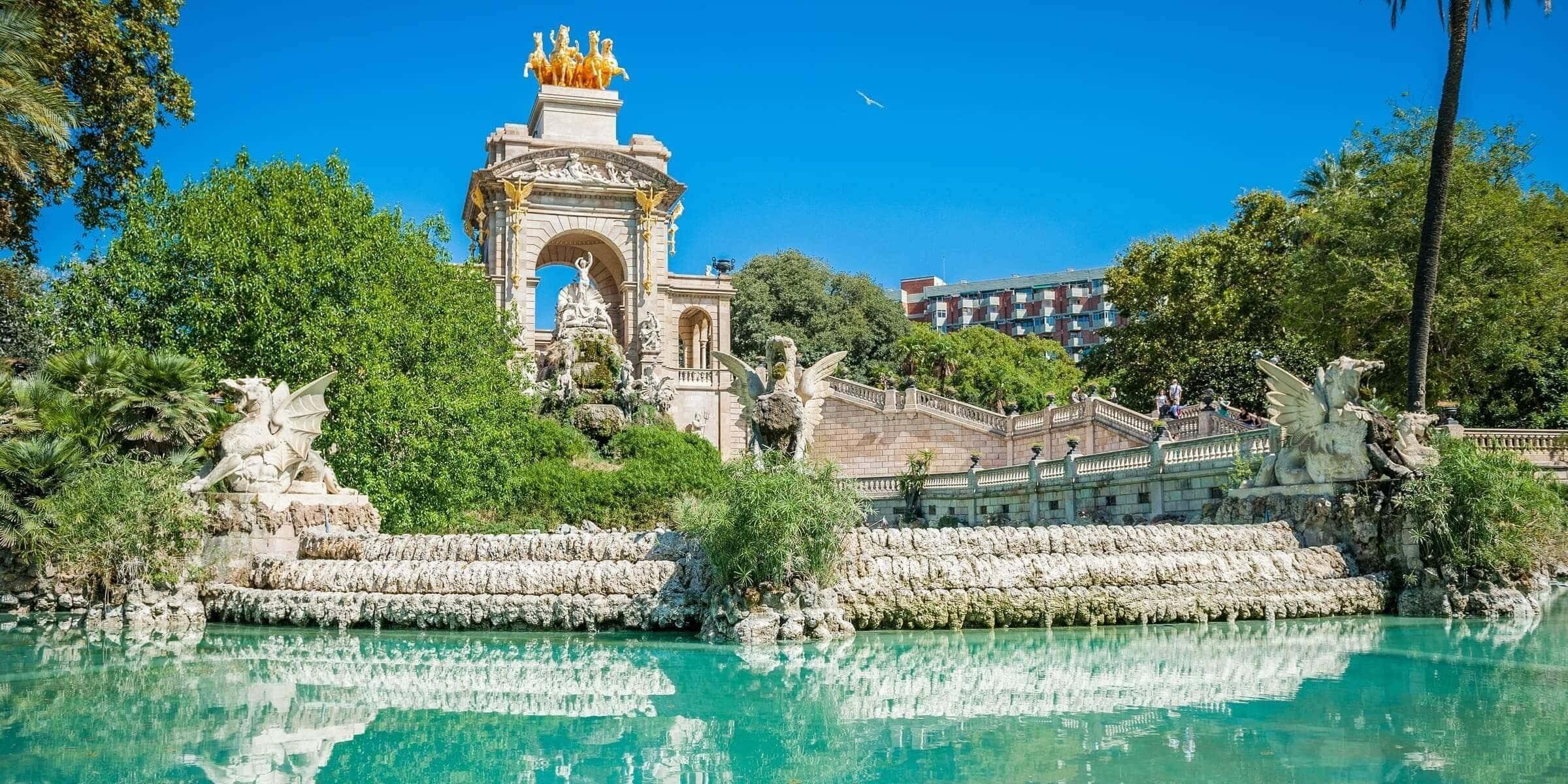 Singlereise nach Barcelona - Parc de la Ciutadella