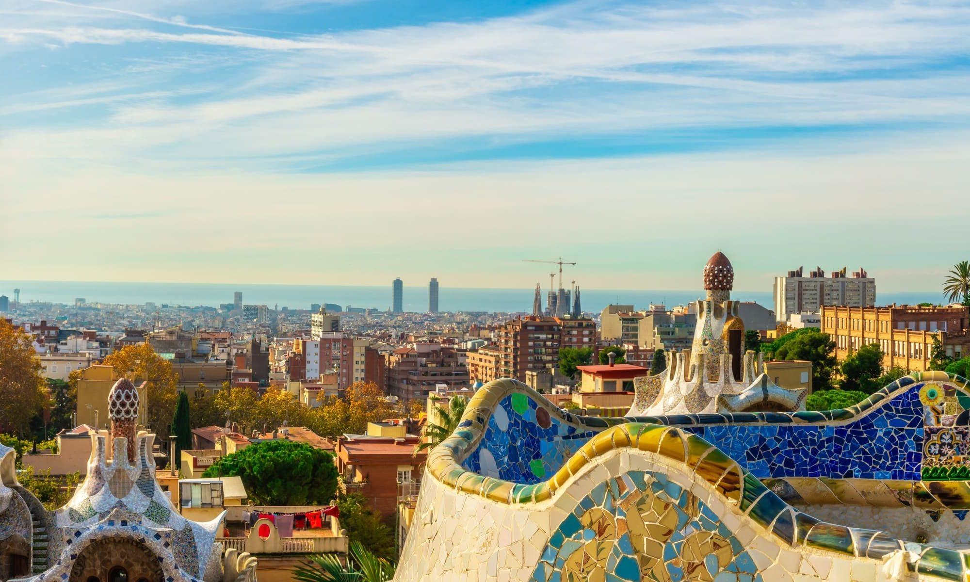 Singlereise nach Barcelona - Parc guell