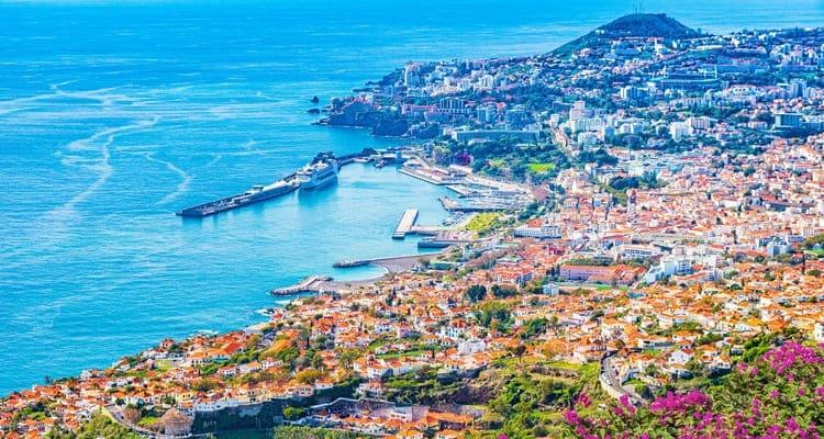 Singlereise nach Madeira - Blick über Funchal