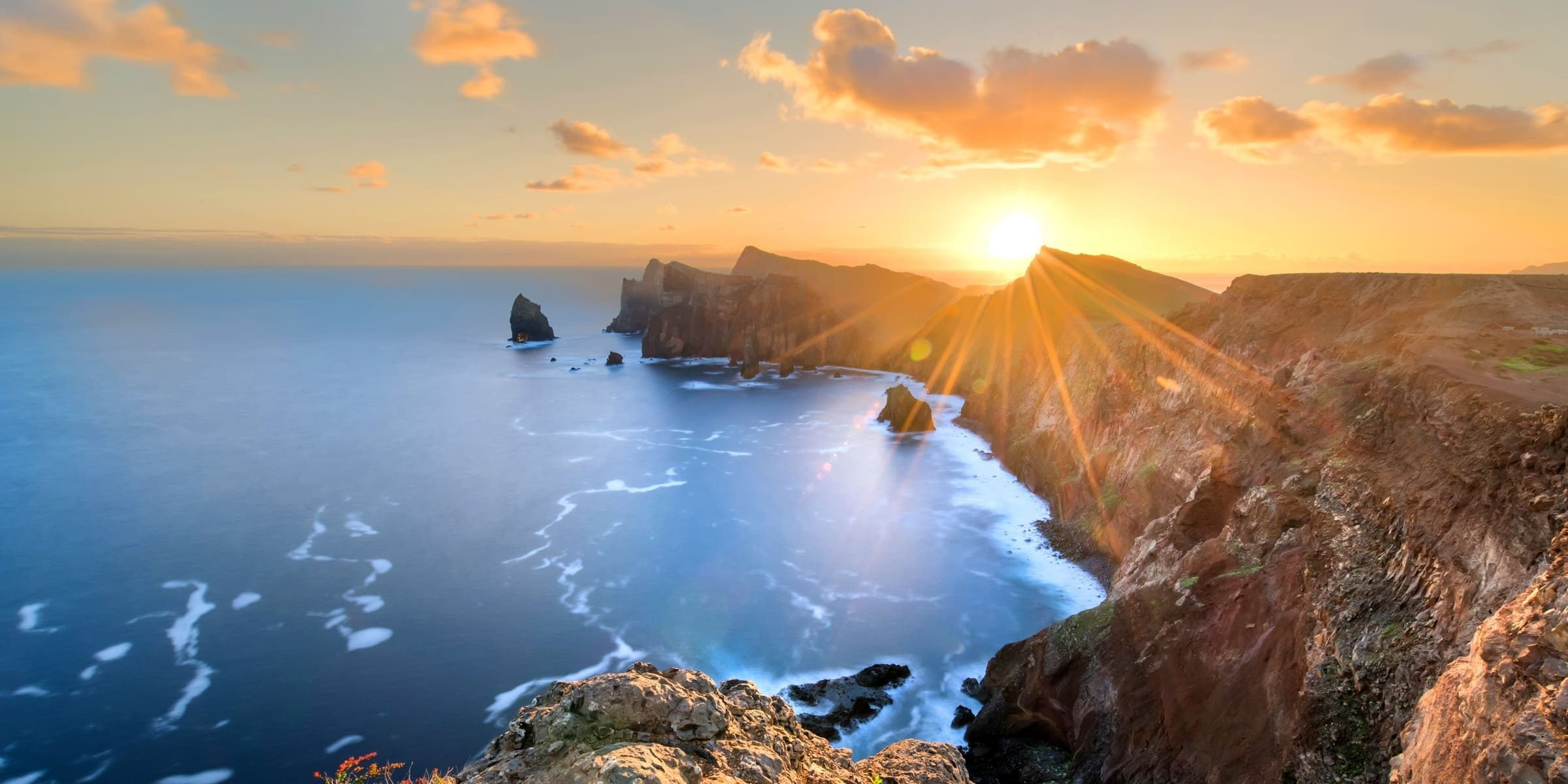 Singlereise nach Madeira - Felsküste