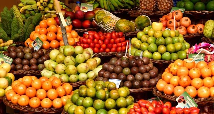 Singlereise nach Madeira - Markt in Funchal
