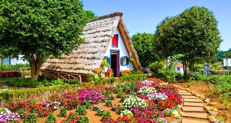 Singlereise nach Madeira - Haus in Santana