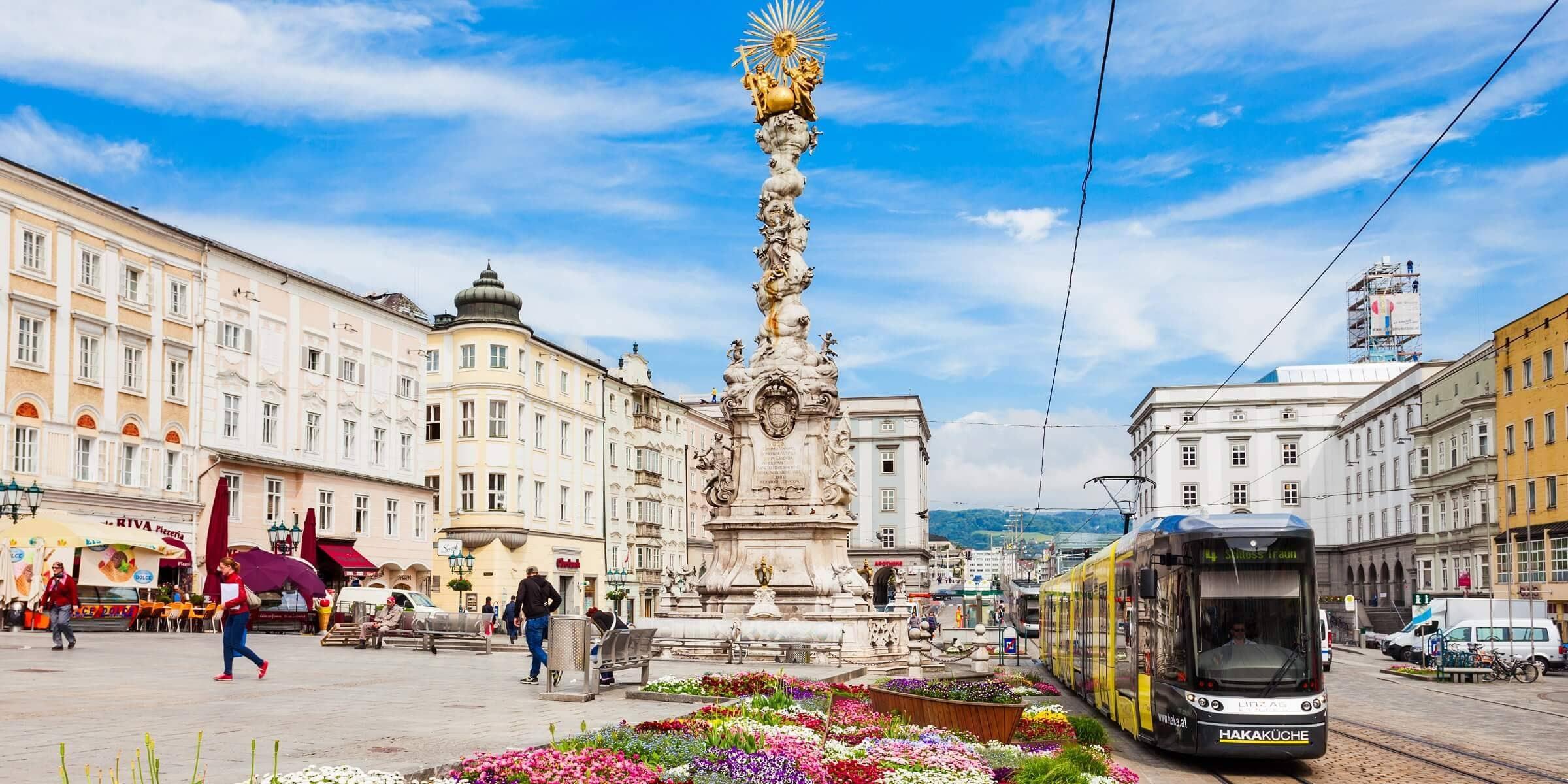 Singlereise nach Bad Leonfelden - Linz Hauptplatz