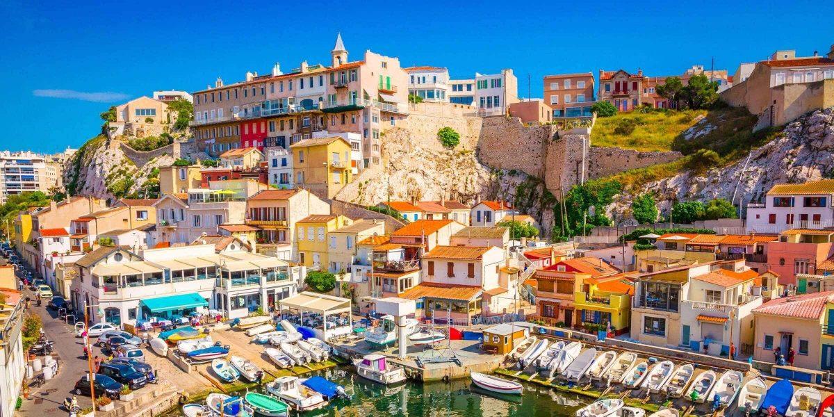 Singlereise nach Marseille - Vallon des Auffes Port