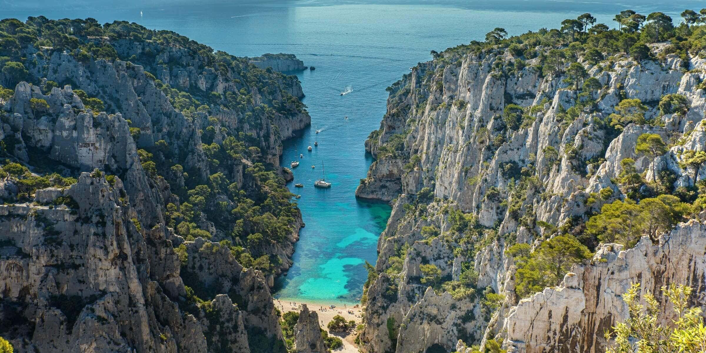 Singlereise nach Marseille - Belvedere d´En-Vau