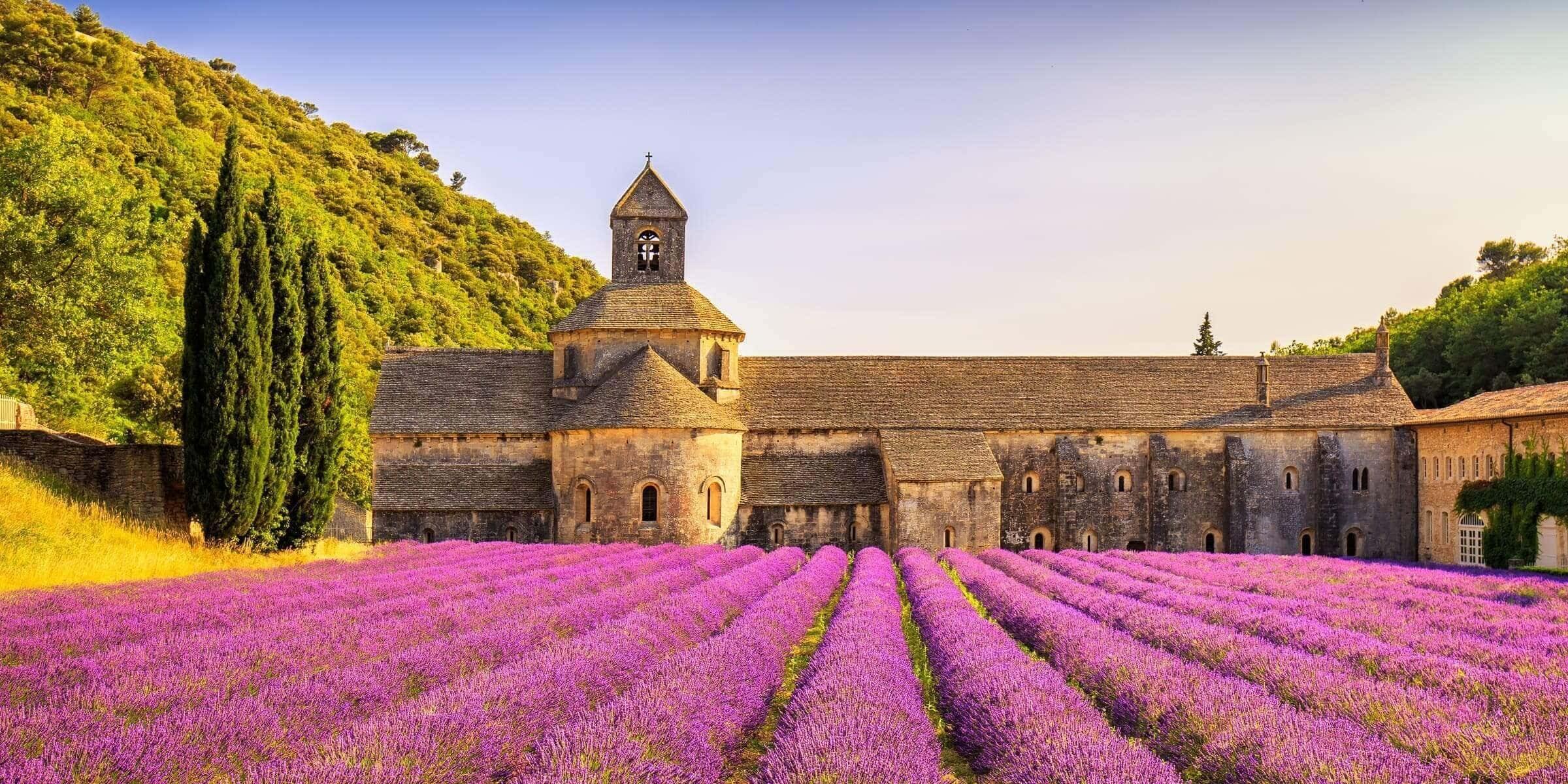 Singlereise nach Marseille - Lavendel Abbey of Senanque