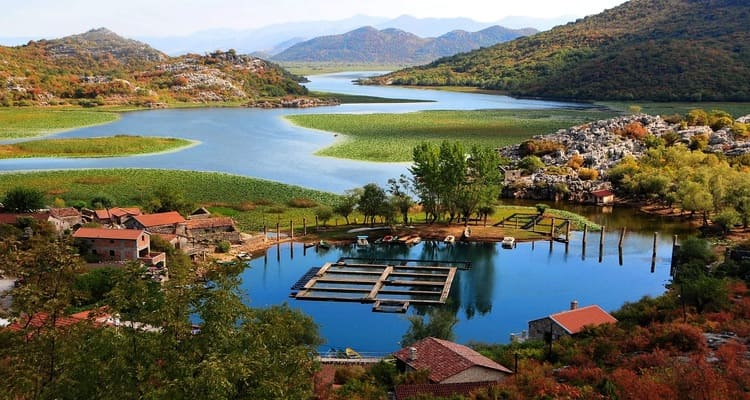 Singlereise nach Montenegro - Skuatrisee