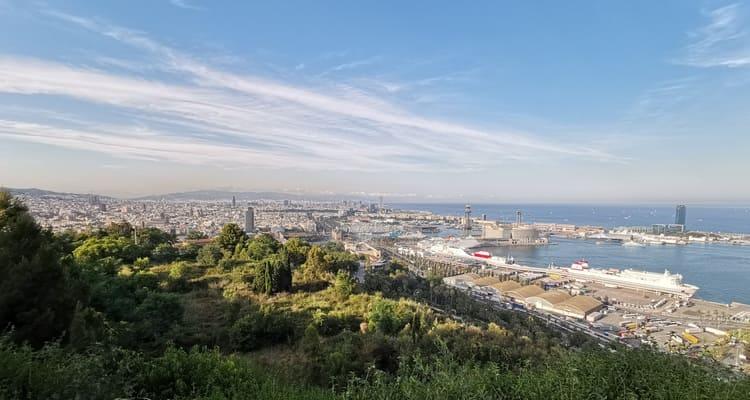 Singlereise nach Barcelona - Aussicht Montjuic