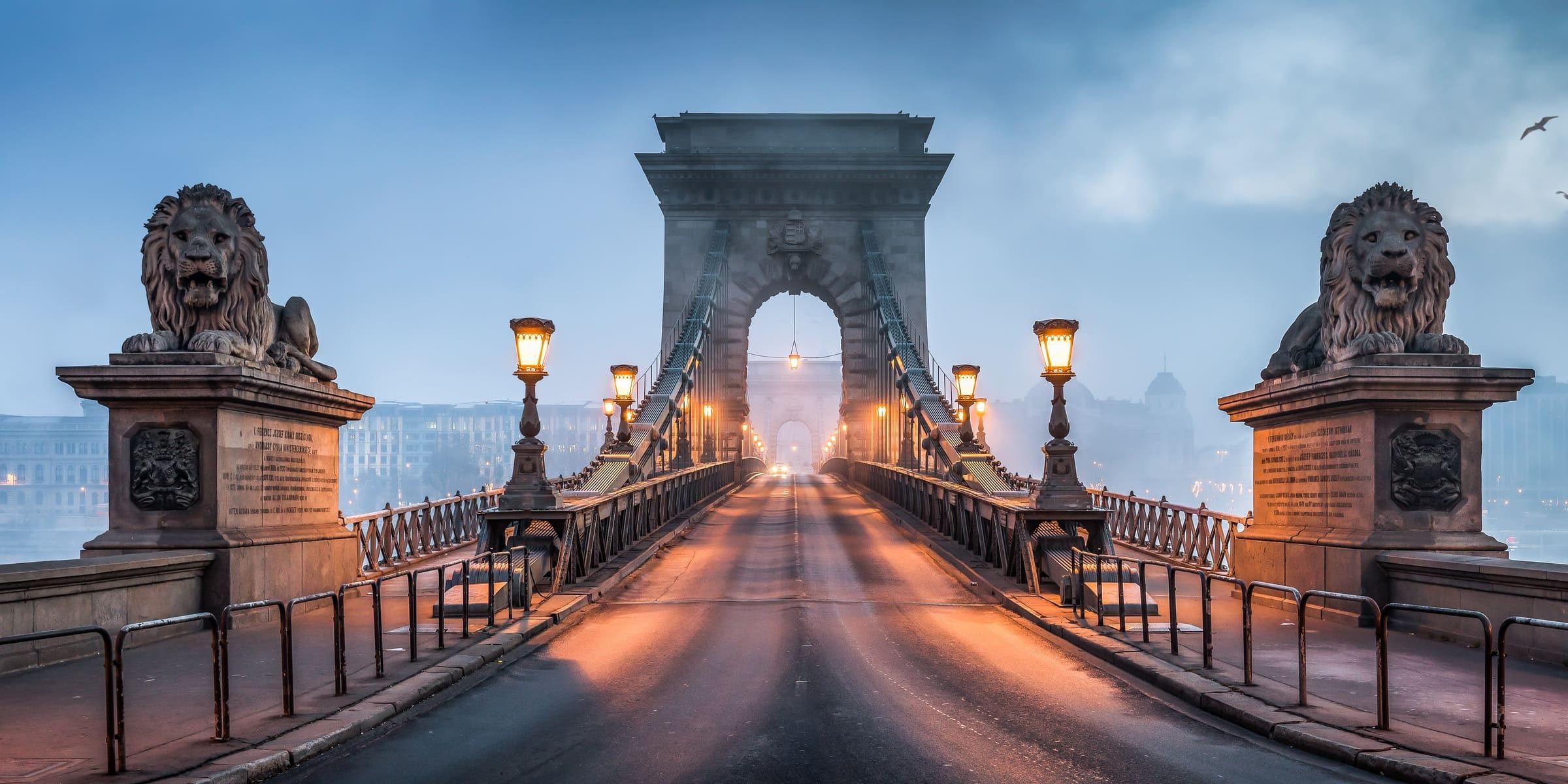 Singlereise nach Budapest - Kettenbrücke
