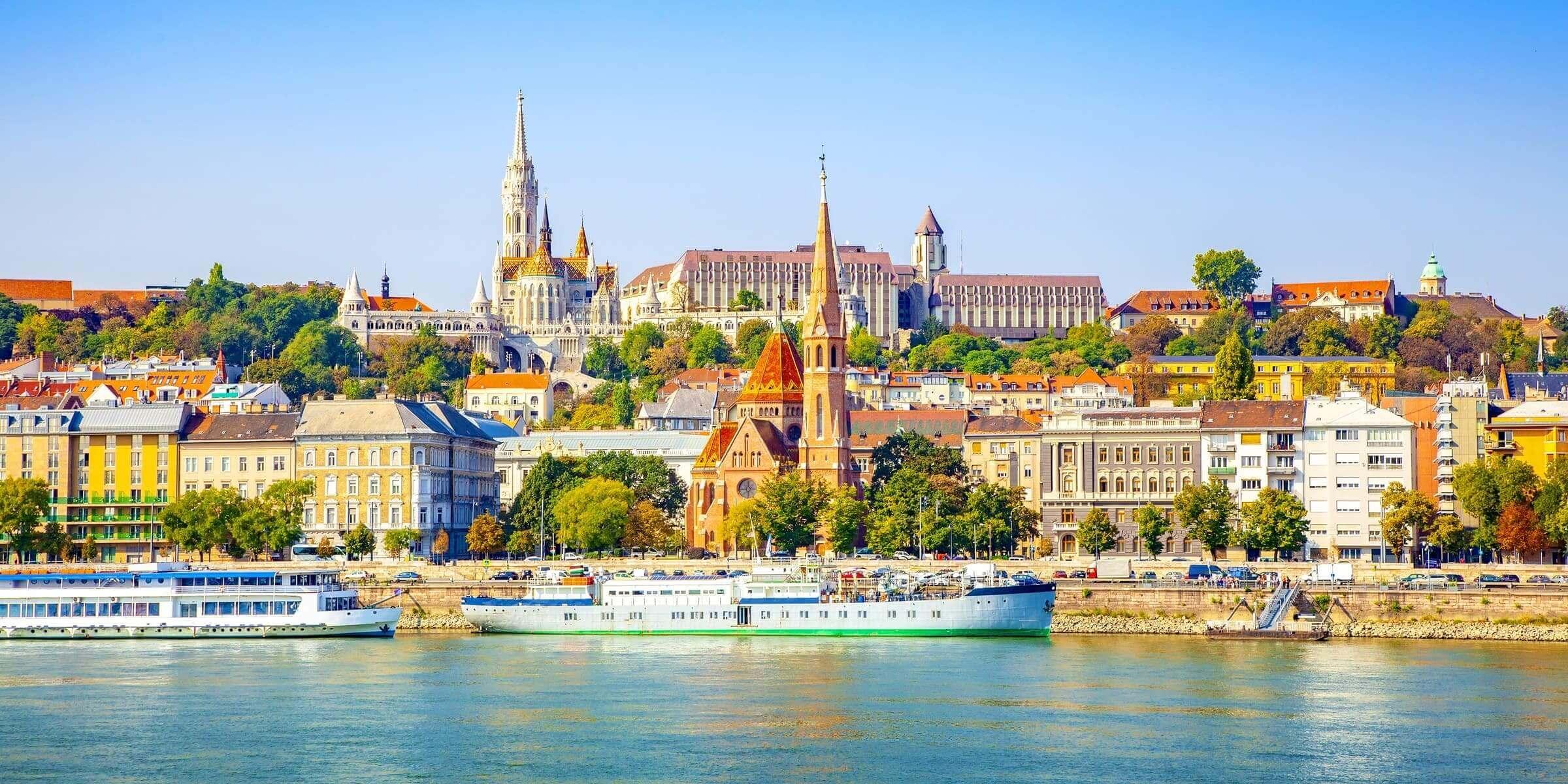 Singlereise nach Budapest - Skyline
