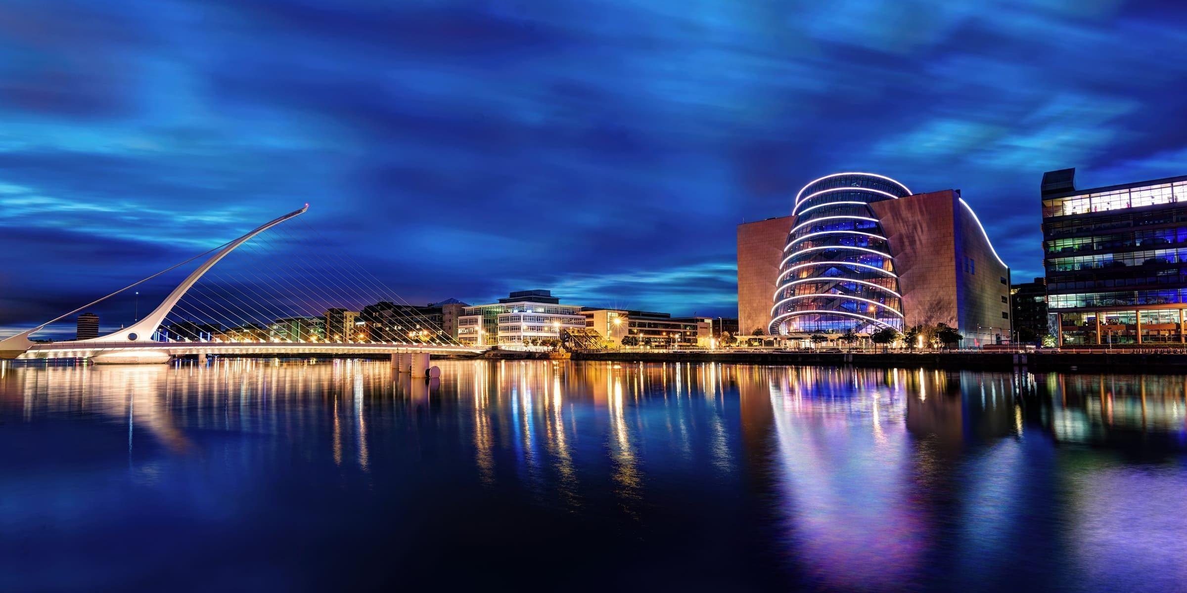 Singlereise nach Dublin - Beckett Bridge