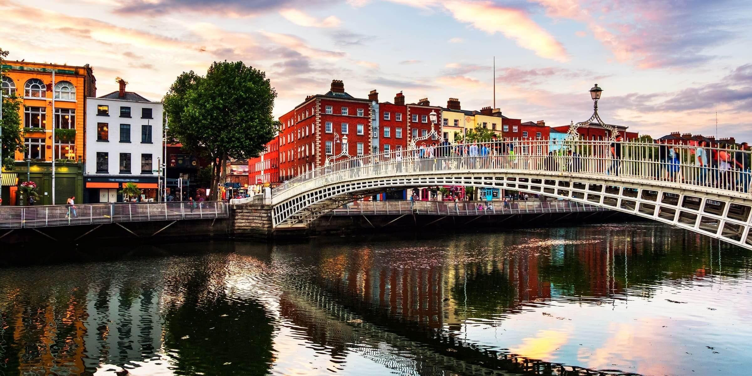 Singlereise nach Dublin - Penny Bridge