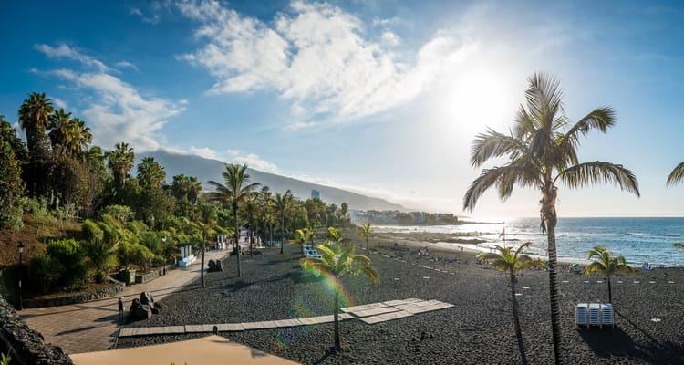 Singlereise nach Teneriffa - Strand Puerto de la Cruz