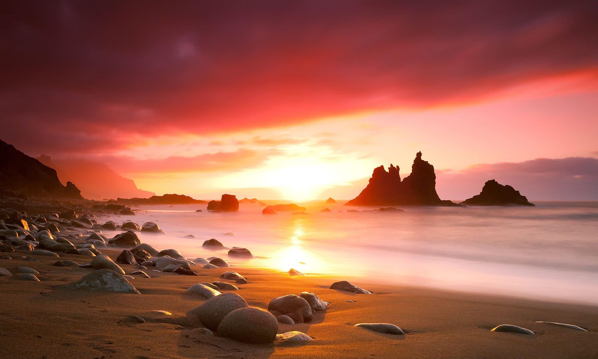 Singlereise nach Teneriffa - Sonnenuntergang am Strand
