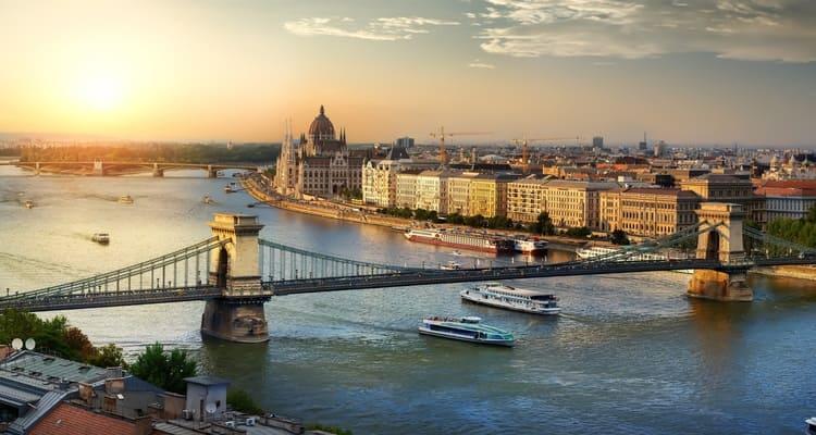 Singlereise nach Budapest - Donau
