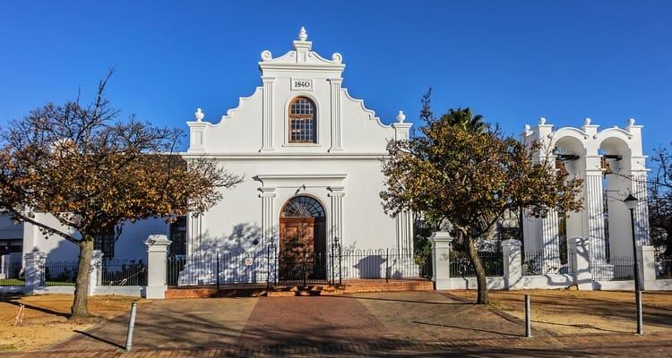 Singlereise nach Südafrika - Stellenbosch Church