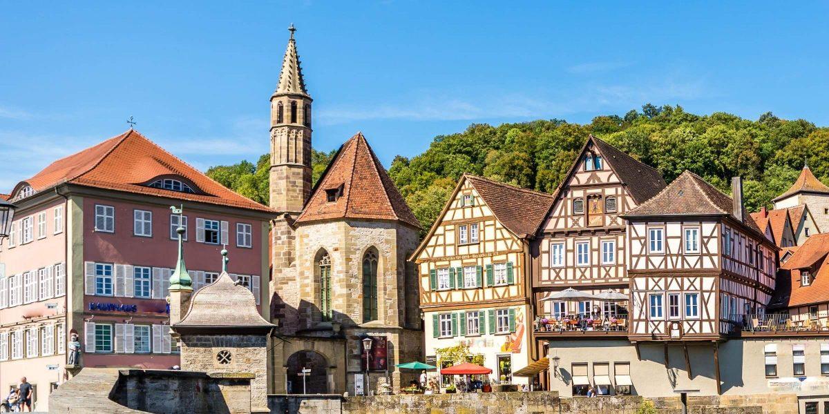 Singlereise nach Stuttgart - Fachwerkhäuser