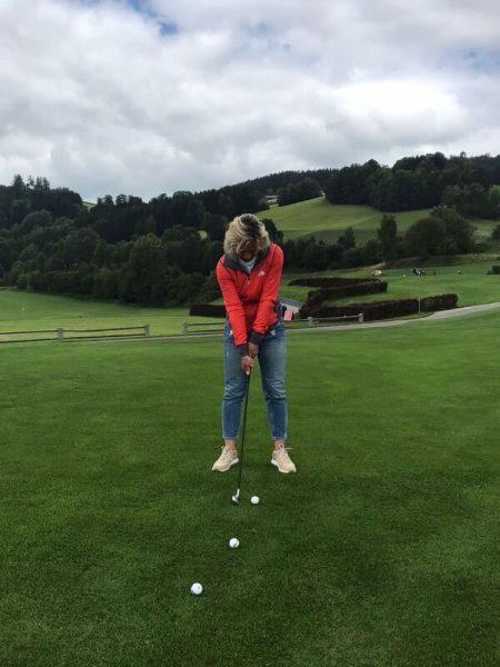 Persönlicher Reisebericht: Michaelas erste Singlereise mit adamare - Golfen in Bad Leonfelden