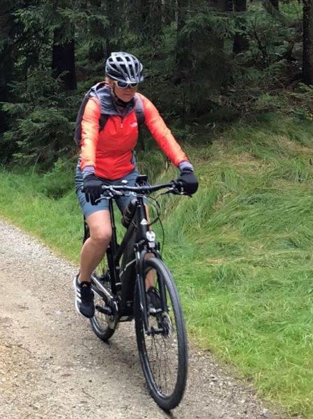 Persönlicher Reisebericht: Michaelas erste Singlereise mit adamare - Mountainbike fahren in Österreich